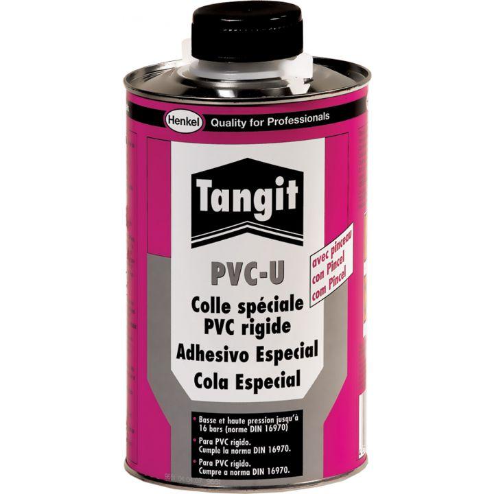 Клей для труб из ПВХ Tangit PVC-U, 1 кг (с кистью) (10860-30)