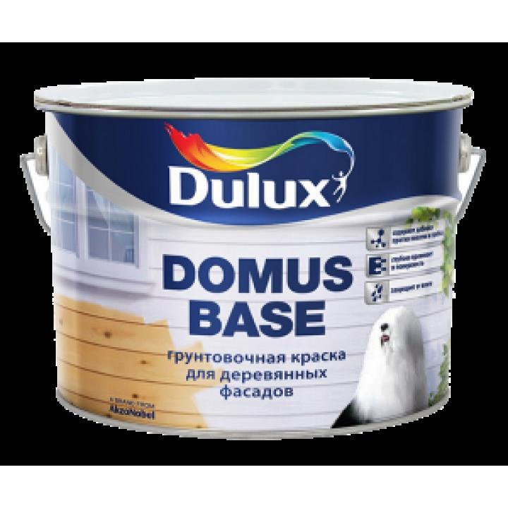 Грунтовочная краска Dulux DOMUS BASE для деревянных фасадов белая 10л (5134993)