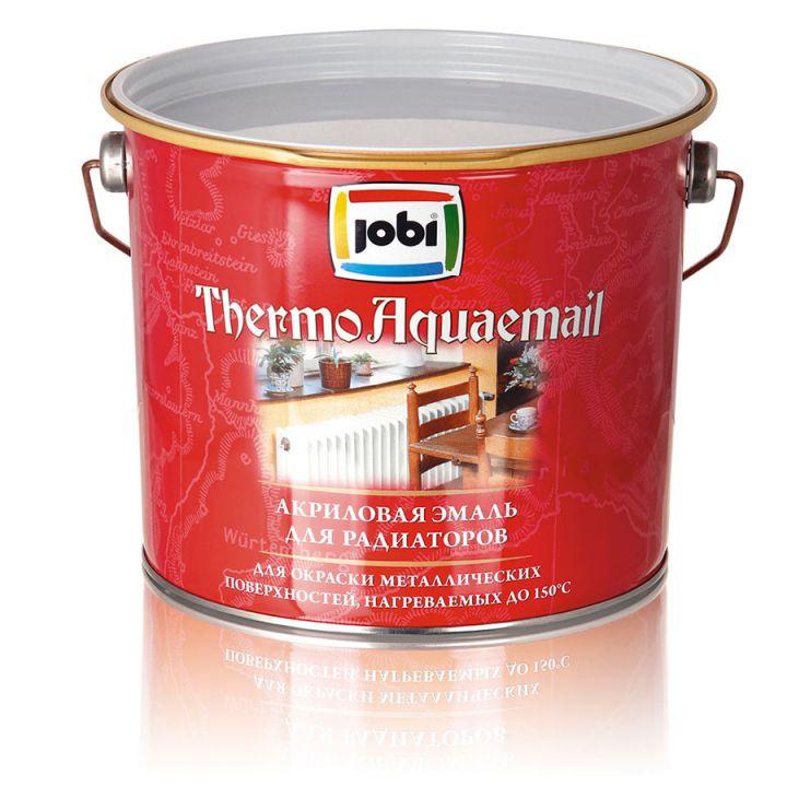 JOBI THERMOAQUAEMAIL Эмаль акриловая для радиаторов белая (2,7л; 3шт) (16176)