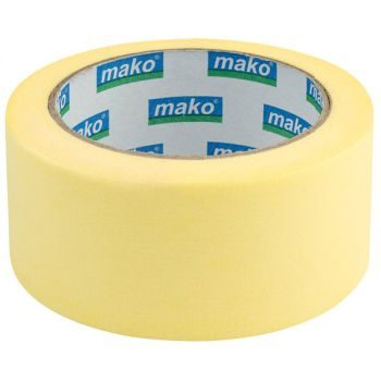 Скотч малярный 50 м/ 25 мм, желтый
