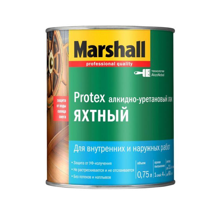 Лак Marshall PROTEX ЯХТНЫЙ глянцевый 0,75л (5255237)