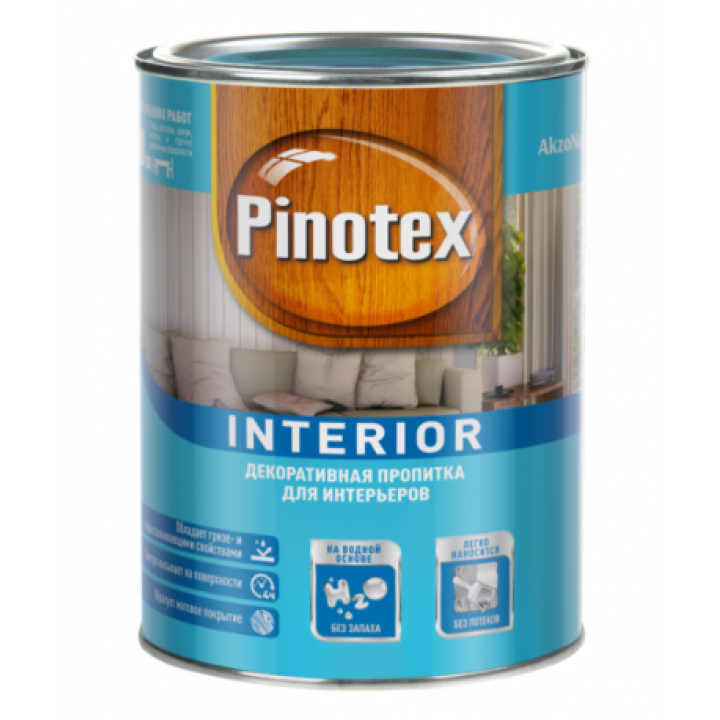 Пропитка Pinotex INTERIOR CLR (база под колеровку) 2,7л (15026-30)