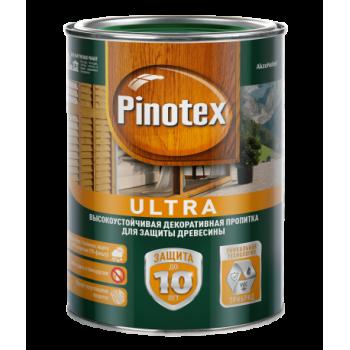 Пропитка Pinotex ULTRA Тиковое дерево 9л