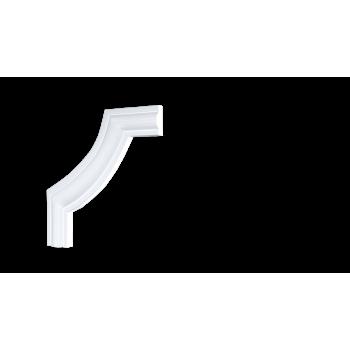 C1-157 A/Декоративный уголок гладкий (145*145*13мм)/4, шт