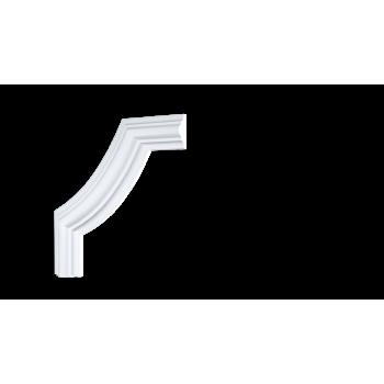 C1-DD002/Декоративный уголок гладкий (157*157*19мм)/4, шт