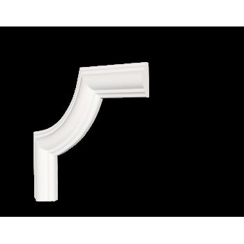 C1-DD35/Декоративный уголок гладкий (115*115*12мм)/4, шт