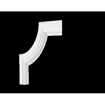 C1-DD603/Декоративный уголок гладкий (150*150*10мм)/4, шт