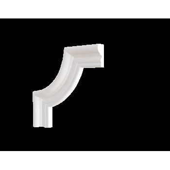C1-DD608/Декоративный уголок гладкий (165*165*21мм)/4, шт