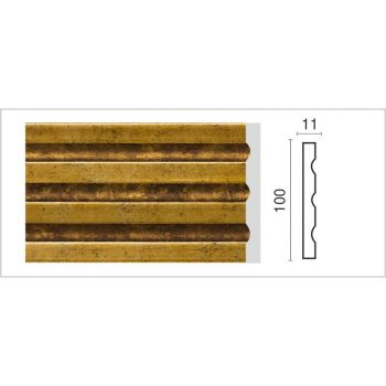 D201-1223/Пилястра (100х11х2400 мм)/10, шт