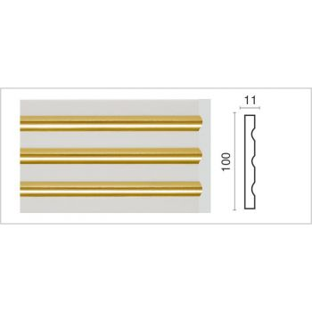D201G-60/Пилястра (100х11х2400 мм)/10, шт