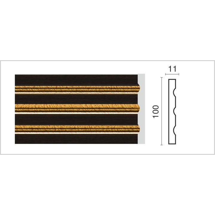 D201G-B/Пилястра (100х11х2400 мм)/10, шт (D201G-B)