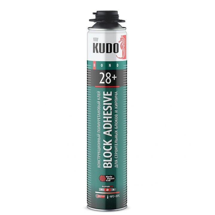 Клей полиуретановый профессиональный всесезонный для строительных блоков KUDO PROFF 28+ (KUPP10UABL)