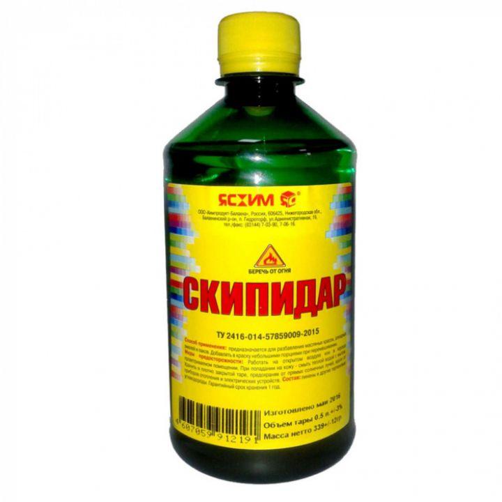 Скипидар, 0.5 л Ясхим / упаковка - 25 шт. (4607059912191)