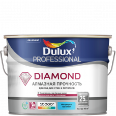 Краска Dulux Trade Diamond Matt мат BW 10л