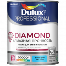Краска Dulux Trade Diamond Matt мат BW 1л