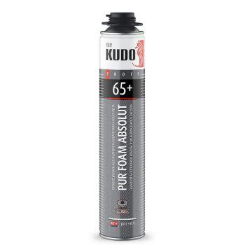 Пена полиуретановая монтажная KUDO PROFF 65+